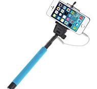 mowto z01 Hand Selfie Stange Einbeinstativ für GOPRO HERO&Auslöser für ios / android Handys blau