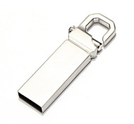 4GB Stainless Steel Waterproof Metal USB Flash Drives U Disk Storage Pen Drive USB 2.0 Memory Stick Disk