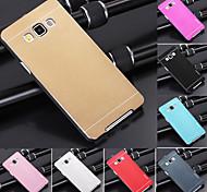 ДФ роскошь высокого качества сплошной цвет матового алюминия жесткий чехол для Samsung Galaxy a7