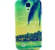 motif de l'été TPU couverture souple pour les Samsung Galaxy S i9500