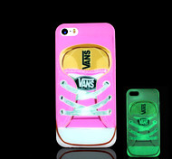 Shoe Pattern Glow in the Dark Cover for iPhone 4 / iPhone 4 S Case