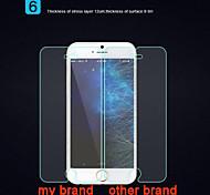 frente endurecido protector de la pantalla de cristal para iphone 6s más / 6 más
