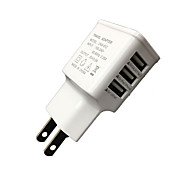 Cwxuan™ Universal EU Plug  3-Port USB Charger iPhone 6/6 Plus/5/5S Samsung S4/5 HTC LG and Others