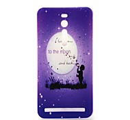 I Love You to the Moon and Back Pattern 0.6mm Ultra-Thin Soft Case for Asus Zenfone 2