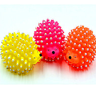 Squeaking Mini Hedgehog Toy for Pet(Random Color)