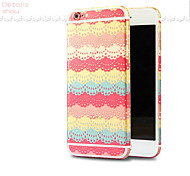 Colorful Lovely Front+Back Skin Cover Sticker for iPhone 6 Plus(Assorted Colors)