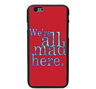 We're Mad Design PC Hard Case for iPhone 6 Plus