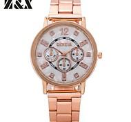 forma de quartzo relógio Número diamante esportes analógicos dos homens