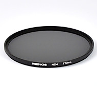 MENGS® ND4 Neutral Density Filter With Aluminum Frame For Canon Nikon Sony Fujifilm Olympus And Pentax