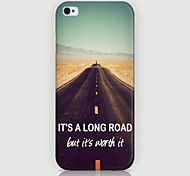 Highway Pattern Phone Back Case Cover for iPhone5C