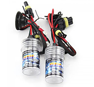 2pcs H7 35W High Low Beam 6000K White Halogen Headlamp Headlight Bulbs