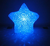 Multicolor Romantic Star Pattern Night Light