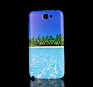 playa de la cubierta del patrón fo Samsung Galaxy Note 2 N7100 caso