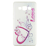 Colored Drawing Silica Gel Soft Case for Samsung Galaxy A5