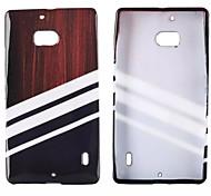 blanc motif série de paillettes TPU étui flexible pour Nokia Lumia 930