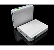 10400mAh USB Port Power Bank Extermal Battery YC-YDA9 for Iphone 4S/5S/6/6 plus/Samsung S4/S5/LG/HTC/Micro USB Devices