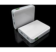 10400mAh puerto usb banco de la energía de la batería extermal YC-yda9 para iphone / dispositivos usb micro 4s / 5s / 6/6 más / samsung s4