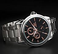 chenxi oro cinturino orologio al quarzo di affari di alta qualità
