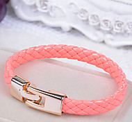 European Style Fashion Braided Leather Bracelet