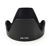 mengs® ew-78d parasol forma de pétalos de Canon EF 28-200mm f / 3.5-5.6 USM, EF 28-200mm f / 3.5-5.6, ef 18-200mm f / 3.5-5.6