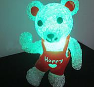 Multicolor Nail Pattern Night Light