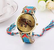 new  Elephant Friendship Bracelet Watch GENEVA Watch Ladies Quarzt Watches