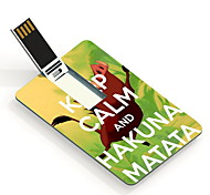 16GB Hakuna Matata Design Card USB Flash Drive