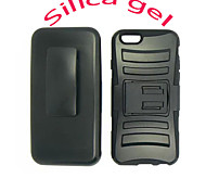 """Hard Dustproof plastic mixed with silica gel Case Cover For Apple iphone 6 """"5.5"""" Protect"""