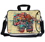 "Elonbo Exotic Elephant Carrying Handle & Removable Shoulder Strap Laptop Bag for 13"" Macboob pro HP"