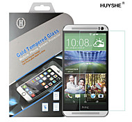 HUYSHE Easy Install Anti Scratch Water Proof Anti-Fingerprint Tempered Glass Screen Protector for HTC One M9