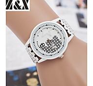 Children's Lovely Little Bear Quartz Analog Leather Bracelet Watch(Assorted Colors)
