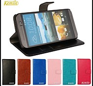 Kemile Luxury Photo Frame PU Leather Case  Wallet Phone Pouch Flip Cover  for HTC One M9(Assorted Colors)