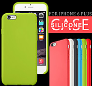 Original Smooth Silicone Case Cover for iPhone 6 Plus (Assorted Colors)