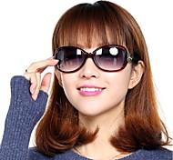 Gafas de Sol mujeres / Chica's Elegant / Ligeras / Retro/Vintage / Moda / Polarizada De Gran TamañoNegro / Amarillo / Rojo / Morado /