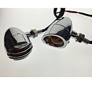 2*The New Harley-Plated Mesh Turn Lights