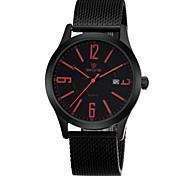 Marke Mens-Quarzuhr der großzügigen einfachen Kalender mit großen Anzahl Display Mode Uhren