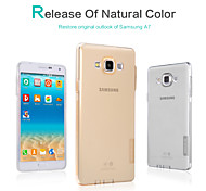 Nillkin Nature TPU Case  Ultra Thin Transparent Soft Case Cover 0.6mm S Line Clear For Samsung Galaxy A7(A700)