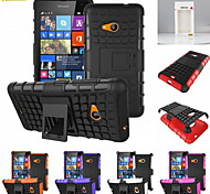 Kemile Unique Grenade Grip Rugged Rubber kin Cover For Lumia730/ 735 (Aorted Color)