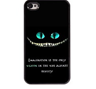 iPhone 4/4S/iPhone 4 - Cover-Rückseite - Grafisches Design/Cartoon Motiv/Totenkopmotiv/Metallic Design/Spezielles Design/Neuartig (
