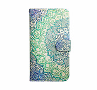 Mandala Pattern PU Leather Case with Stand for Samsung Galaxy S3 MINI I8190