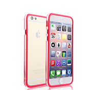 Two Mixed Colors with Transparent Middle Bumper Frame Case for iPhone 5/5S(Assorted Colors)