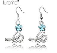Lureme® High Quality, Vintage Fashion Rhinestone Earrings,Drop Earrings-Love
