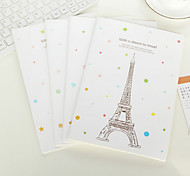 With A Dream To Travel Cute/Business/Multifunction Paper Notepads Creative Notebooks (Random Color)
