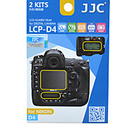 JJC LCP-D4 for Nikon D4 Special Foil Main Screen Attached Screen Shoulder Screen Coating Of Splitting
