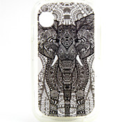 Elephant Pattern TPU Soft Case for WIKO OZZY