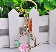 Lovely With Drill Birds Key Chain