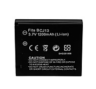 1200mAh Camera Battery Pack for PANASONIC DMW-BCJ13(T)