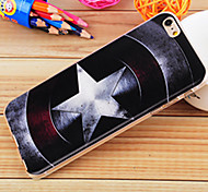 Halo Five-pointed Star Painting TPU Falling Proof Case for iPhone6