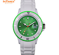 InTimes IT-044MC Ladies watches Plastic case Silicone band