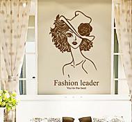 Environmental Removable Fashion Lady Tags & Sticker